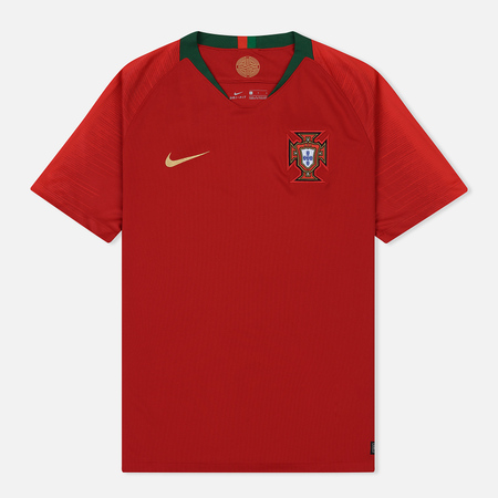 Мужская футболка Nike Soccer Jersey 2018 Portugal Stadium Home Gym Red