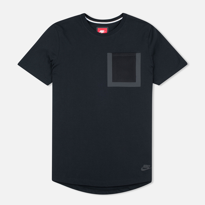 Nike Tech Hypermesh Pocket Men's T-shirt Black