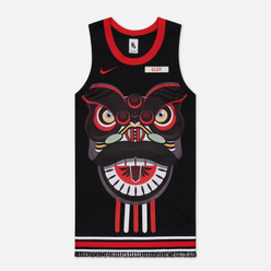 Мужская футболка Nike x CLOT NRG GE Jersey Black/University Red/White