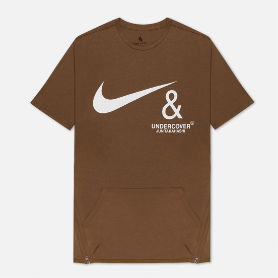 Мужская футболка Nike x Undercover NRG Pocket Lichen Brown/White
