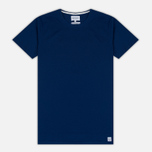 Мужская футболка Norse Projects Esben Blind Stitch SS Compound Blue фото- 0