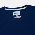 Мужская футболка Norse Projects Esben Blind Stitch SS Compound Blue фото- 1