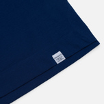 Мужская футболка Norse Projects Esben Blind Stitch SS Compound Blue фото- 2