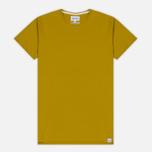 Мужская футболка Norse Projects Esben Blind Stitch SS Edge Yellow фото- 0