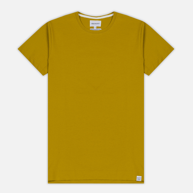 Мужская футболка Norse Projects Esben Blind Stitch SS Edge Yellow