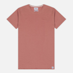 Мужская футболка Norse Projects Esben Blind Stitch SS Fusion Pink фото- 0