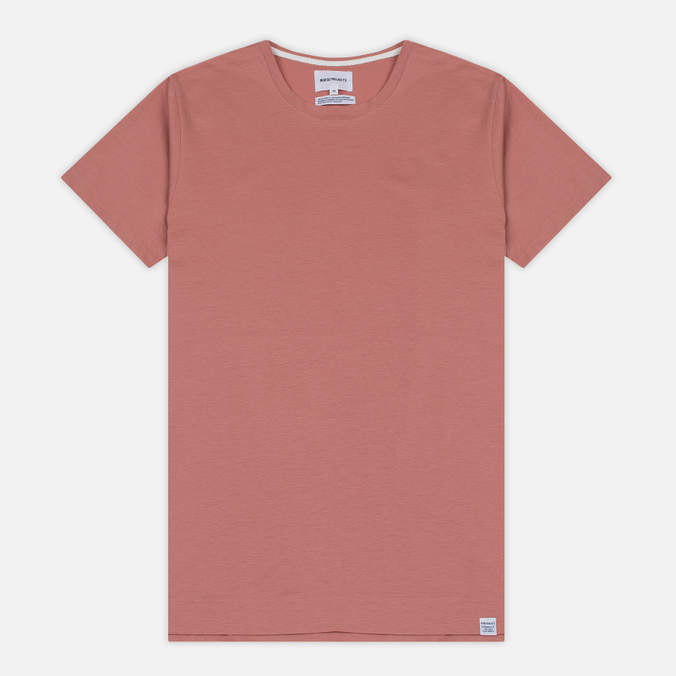 Мужская футболка Norse Projects Esben Blind Stitch SS Fusion Pink