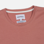 Мужская футболка Norse Projects Esben Blind Stitch SS Fusion Pink фото- 1