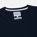 Мужская футболка Norse Projects Esben Blind Stitch SS Navy фото- 1