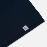 Мужская футболка Norse Projects Esben Blind Stitch SS Navy фото- 2