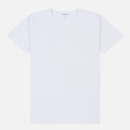Мужская футболка Norse Projects Esben Light SS White