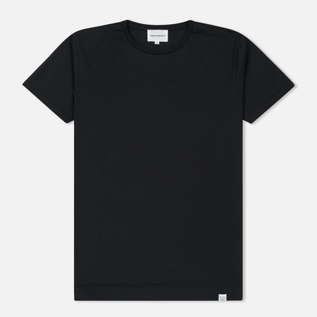 Мужская футболка Norse Projects Esben Mercerized Black