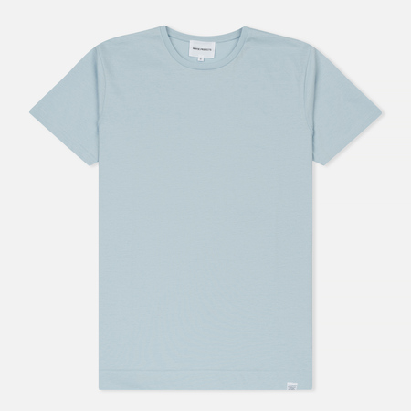 Мужская футболка Norse Projects Esben Mercerized Glacier