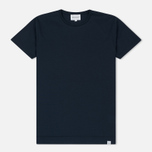Мужская футболка Norse Projects Esben Mercerized Navy фото- 0