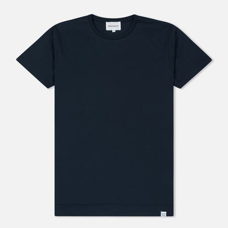 Мужская футболка Norse Projects Esben Mercerized Navy