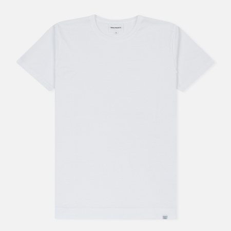Мужская футболка Norse Projects Esben Mercerized White