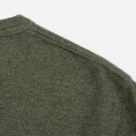 Мужская футболка Norse Projects James Mouline Dryed Olive фото- 3