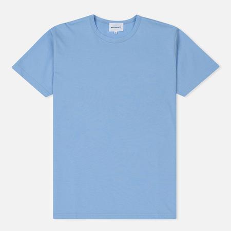 Мужская футболка Norse Projects Jesper Mercerized Luminous Blue