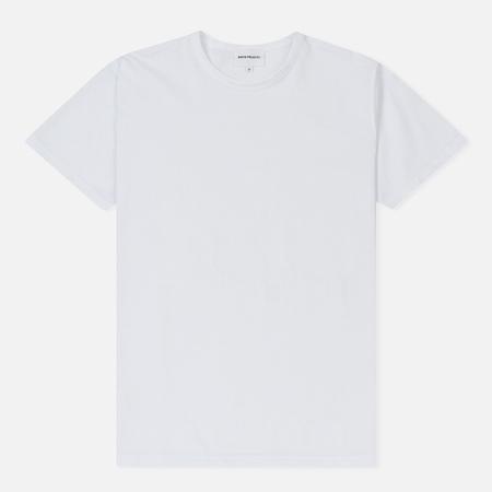 Мужская футболка Norse Projects Jesper Mercerized White