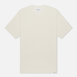 Мужская футболка Norse Projects Johannes Pocket Ecru