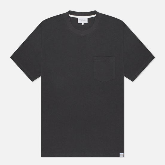 Мужская футболка Norse Projects Johannes Pocket Slate Grey