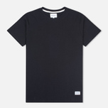 Norse Projects Niels Basic SS Men's T-shirt Black photo- 0