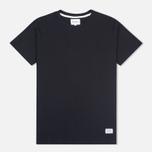 Мужская футболка Norse Projects Niels Basic SS Black фото- 0