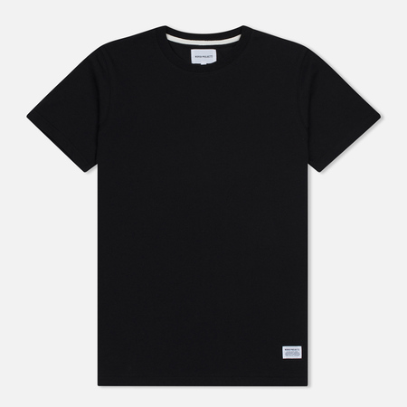 Мужская футболка Norse Projects Niels Basic SS Black