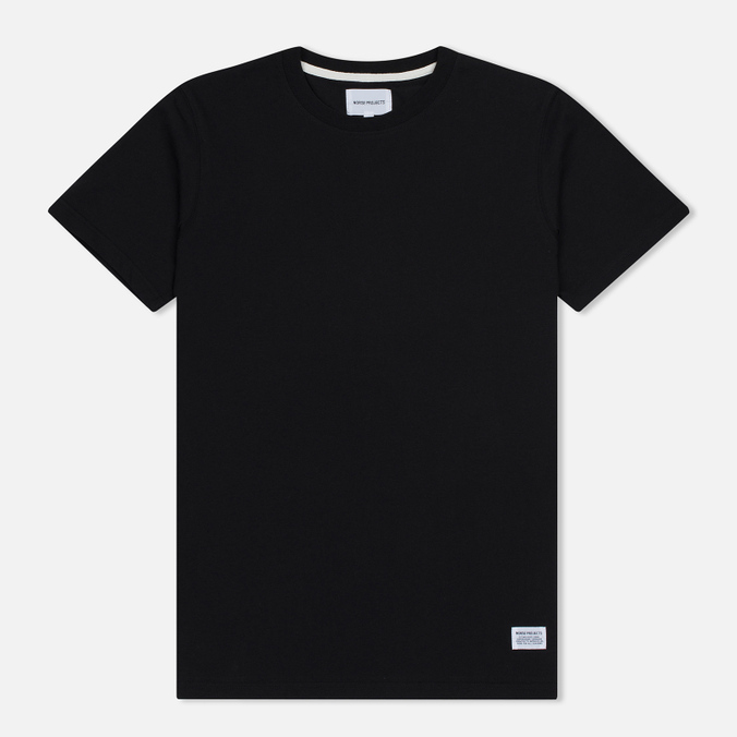 Мужская футболка Norse Projects Niels Basic SS Black