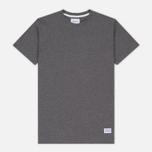 Norse Projects Niels Basic SS Men's T-Shirt Charcoal Melange photo- 0