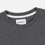 Norse Projects Niels Basic SS Men's T-Shirt Charcoal Melange photo- 1