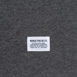 Мужская футболка Norse Projects Niels Basic SS Charcoal Melange фото- 3