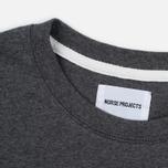 Мужская футболка Norse Projects Niels Basic SS Charcoal Melange фото- 2
