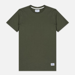 Мужская футболка Norse Projects Niels Basic SS Dried Olive фото- 0