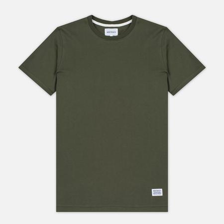 Мужская футболка Norse Projects Niels Basic SS Dried Olive