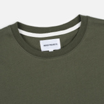 Мужская футболка Norse Projects Niels Basic SS Dried Olive фото- 1