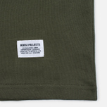 Мужская футболка Norse Projects Niels Basic SS Dried Olive фото- 3