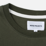 Мужская футболка Norse Projects Niels Basic SS Dried Olive фото- 2
