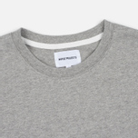 Мужская футболка Norse Projects Niels Basic SS Light Grey Melange фото- 1
