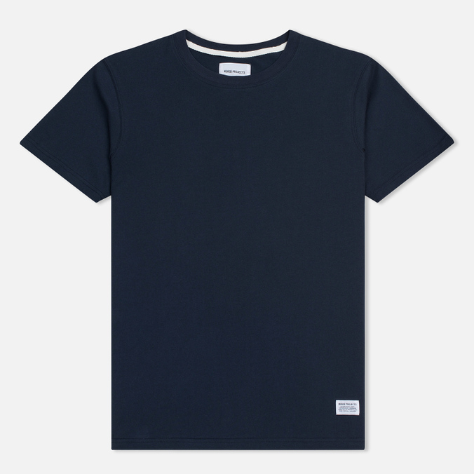 Мужская футболка Norse Projects Niels Basic SS Navy