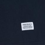 Мужская футболка Norse Projects Niels Basic SS Navy фото- 2