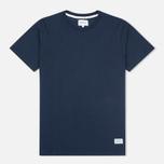 Мужская футболка Norse Projects Niels Basic SS Navy фото- 0
