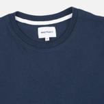 Мужская футболка Norse Projects Niels Basic SS Navy фото- 1