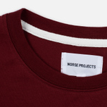 Мужская футболка Norse Projects Niels Basic SS Red Clay фото- 2