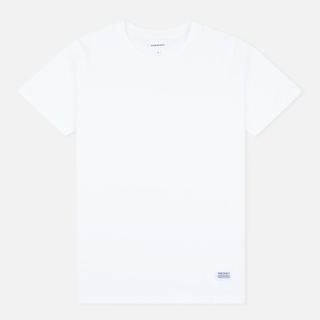 Мужская футболка Norse Projects Niels Basic SS White