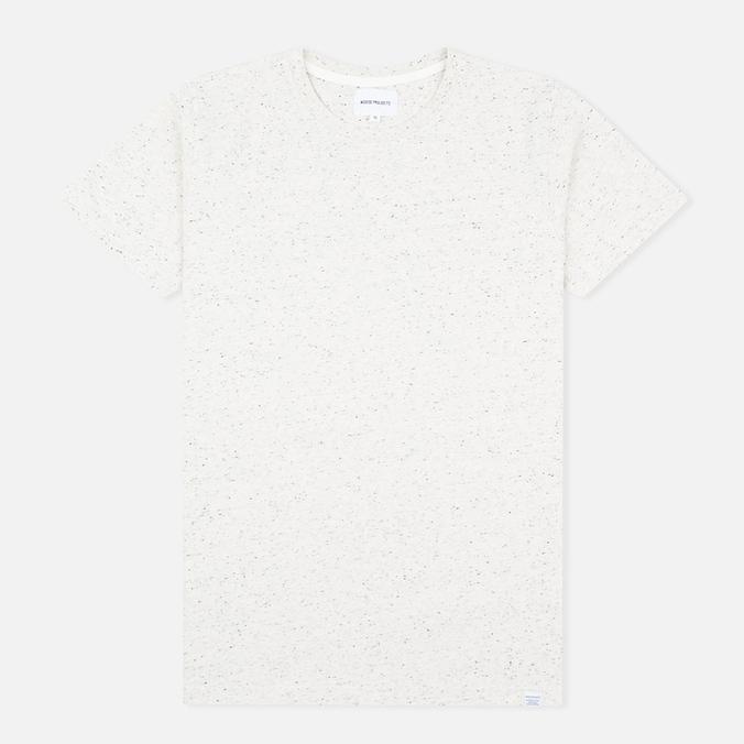 Мужская футболка Norse Projects Niels Classic Boucle Ecru