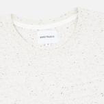 Мужская футболка Norse Projects Niels Classic Boucle Ecru фото- 1