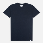 Norse Projects Niels Classic Boucle Men's T-shirt Navy photo- 0