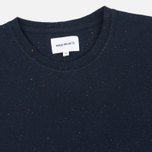 Norse Projects Niels Classic Boucle Men's T-shirt Navy photo- 1