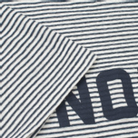 Мужская футболка Norse Projects Niels Cotton Linen Stripe Ecru фото- 4